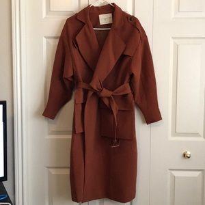 Jackets & Blazers - French coats - pumpkin color - size M/L